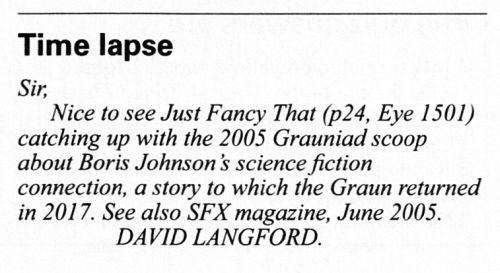 Langford Home Page (Pardon?)