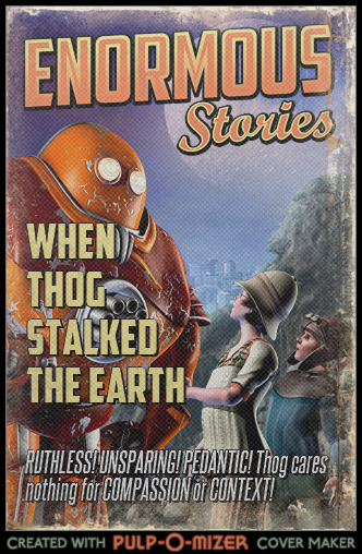 Thog's pulp cover